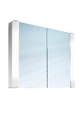 Related Schneider Pepline Double Door 800mm Mirror Cabinet