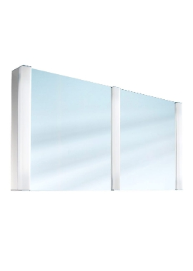Related Schneider Pepline Double Door 1300mm Mirror Cabinet