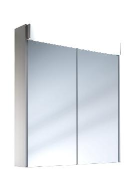Related Schneider Moanaline 2 Door Mirror Cabinet 800mm With Overhead Light