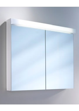 Related Schneider Lowline 2 Door Mirror Cabinet With LED Light 1000mm