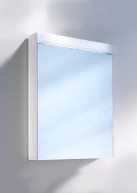 Related Schneider Lowline 600mm 1 Door Mirror Cabinet With LED Light