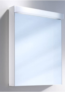 Related Schneider Lowline 600mm 1 Door Mirror Cabinet With Flourescent Lighting