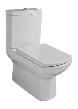 Related Kartell Aspect Back To Wall Close Coupled WC With Cistern And Seat
