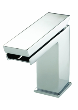 Related Utopia Cascata Fall Basin Mixer Tap With Click-Clack Waste