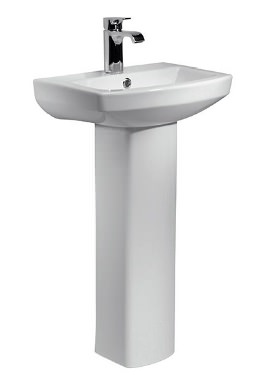 Related Kartell Aspect 460mm 1 Tap Hole Cloakroom Basin And Pedestal