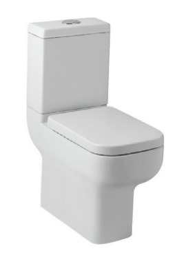 Related Kartell Options 600 Comfort Height Close Coupled WC Pan With Cistern
