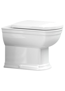 Related Utopia Quantum Classical Back-To-Wall Pan With Soft Close Seat