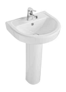 Related Kartell Ratio 460mm 1 Tap Hole Basin And Pedestal