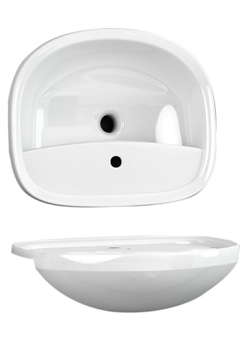 Related Utopia Matese Semi-Recessed Standard Basin 560 x 480mm