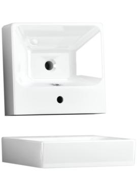 Related Utopia Quantum Square 500mm Slabtop Ceramic Basin