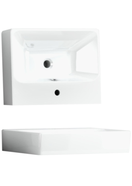 Related Utopia Quantum Square 600mm Slabtop Ceramic Basin