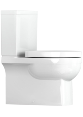 Related Utopia Quantum Square Close Coupled Back-To-Wall WC With Soft Close Seat