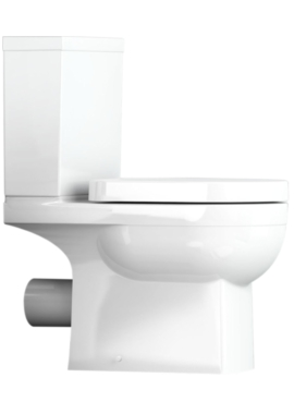 Related Utopia Quantum Square Close Coupled WC With Soft Close Seat 650mm