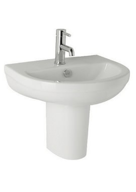 Related Kartell Revive 570mm 1 Tap Hole Basin And Semi Pedestal