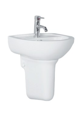 Related Kartell Woburn 450mm 1 Tap Hole And Semi Pedestal