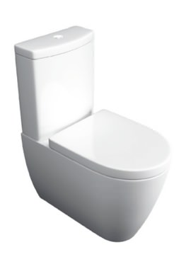 Related Kartell Genoa Close Coupled WC Pan With Cistern And Seat