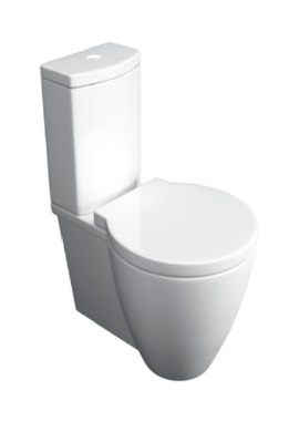 Related Kartell Milano Close Coupled WC Pan With Cistern And Seat