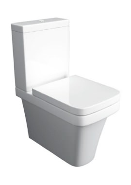 Related Kartell Sicily Close To Wall Close Coupled WC Pan With Cistern And Seat