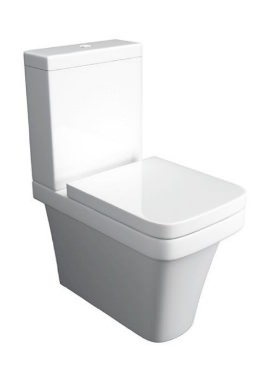 Related Kartell Sicily Comfort Height Close Coupled WC With Cistern And Seat