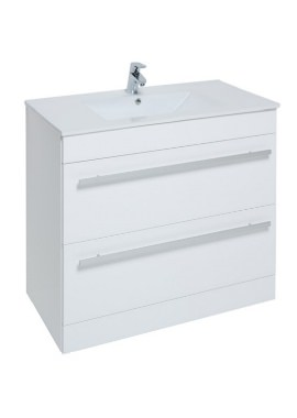 Related Kartell Purity 900mm Floor Standing Drawer Unit And Basin
