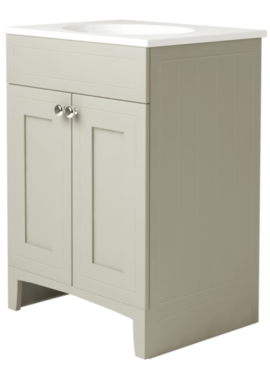Related Noble Classic Ivory 500mm Double Door Unit With Basin