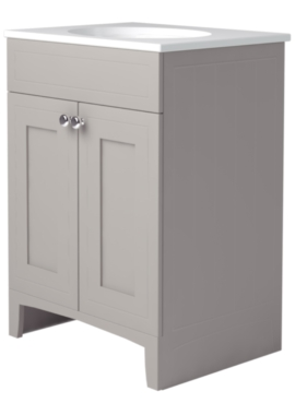Related Noble Classic Earl Grey 600mm Double Door Unit With Basin