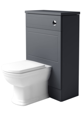 Related Noble Classic Graphite 550mm Back To Wall WC Unit
