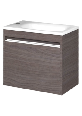 Related Utopia Halo Modular Cloakroom Unit With Mineralcast Washbasin