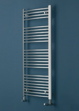 Related Eucotherm Chromo Curved Chrome Ladder Towel 450 x 1264mm