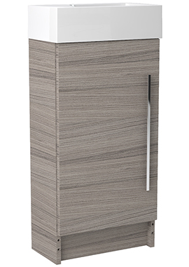 Related Noble Modular Drift 400mm Freestanding Cloakroom Basin Unit