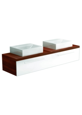 Related Utopia You Modular Twin Single Drawer Unit With 2 Square Ceramic Basin