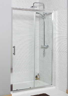 Related Kartell Koncept 1600mm Sliding Shower Door
