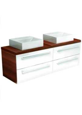 Related Utopia You Modular Twin Double Drawer Unit With 2 Square Ceramic Basin