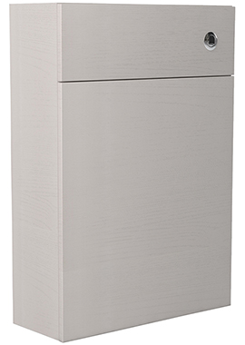 Related Noble Modular Cashmere 500mm Full Height Back To Wall WC Unit