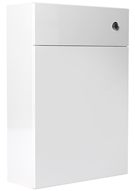 Related Noble Modular White Gloss 500mm Full Height Back To Wall WC Unit
