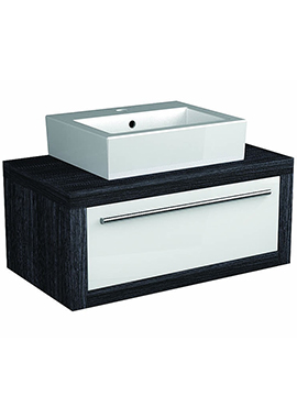 Related I-Line Modular 1100mm Single Drawer Unit With Ceramic Basin