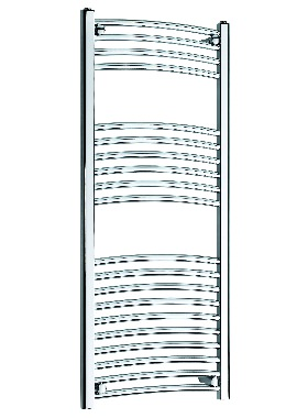 Related Kartell K Rail 22mm Curved Towel Rail 500 x 1200mm Chrome