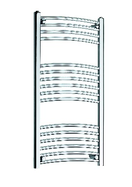 Related Kartell K Rail 22mm Curved Towel Rail 600 x 1000mm Chrome