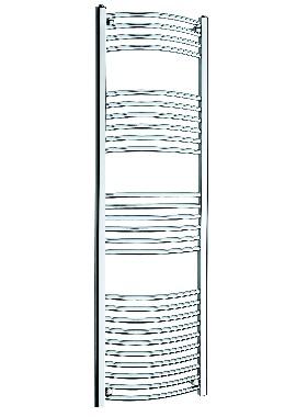 Related Kartell K Rail 22mm Curved Towel Rail 500 x 1600mm White