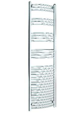 Related Kartell K Rail 22mm Curved Towel Rail 500 x 1800mm White
