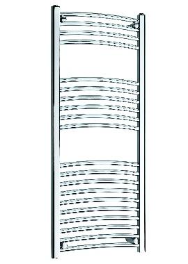 Related Kartell K Rail 22mm Curved Towel Rail 600 x 1200mm White