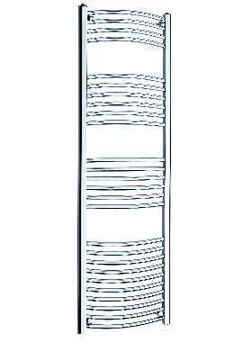 Related Kartell K Rail 22mm Curved Towel Rail 600 x 1600mm White