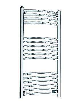 Related Kartell K Rail 22mm Curved Towel Rail 600 x 1000mm White