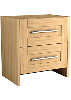 Related Timber Modular 600mm Freestanding Double Drawer Vanity Unit