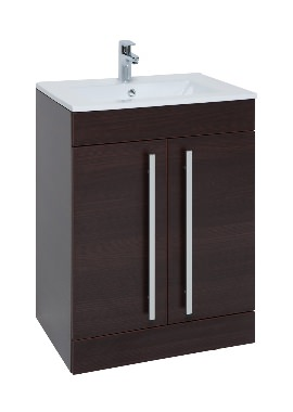 Related Kartell Purity 750mm Chestnut 2 Door Unit And Basin