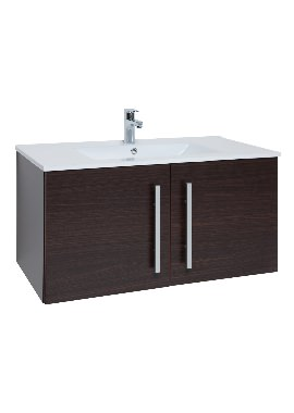 Related Kartell Purity 900mm Chestnut 2 Door Unit And Basin