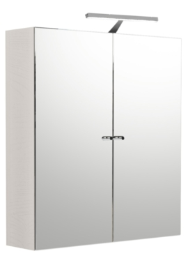 Related Noble Modular Cashmere Double Door Mirror Cabinet 500 x 660mm