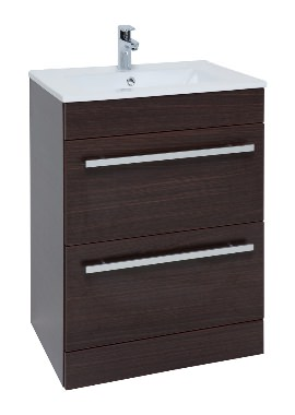 Related Kartell Purity 750mm Chestnut 2 Drawer Unit And Ceramic Basin