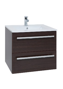 Related Kartell Purity 600mm Chestnut 2 Drawer Unit And Ceramic Basin