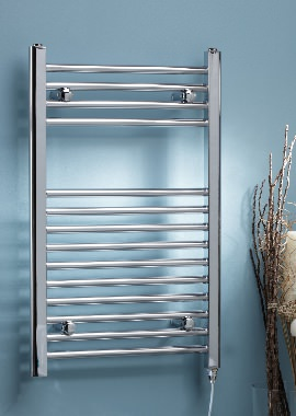 Related Kartell Curved 500 x 1200mm Electric Towel Rail Chrome